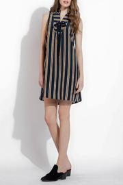THML Clothing Lace Up Dress - Front cropped