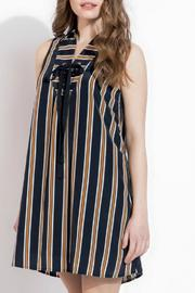 THML Clothing Lace Up Dress - Front full body