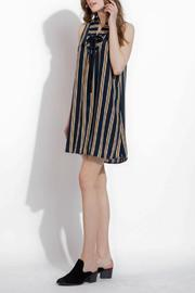 THML Clothing Lace Up Dress - Side cropped