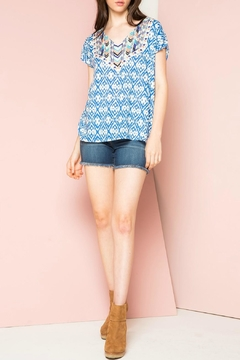 THML Clothing Mix Print Blouse - Product List Image