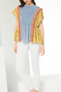 Shoptiques Product: Mixed Media Top