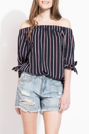 THML Clothing Off Shoulder Top - Product Mini Image