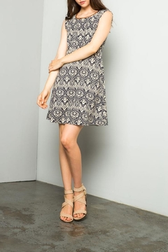 THML Clothing Printed A Line Dress - Product List Image