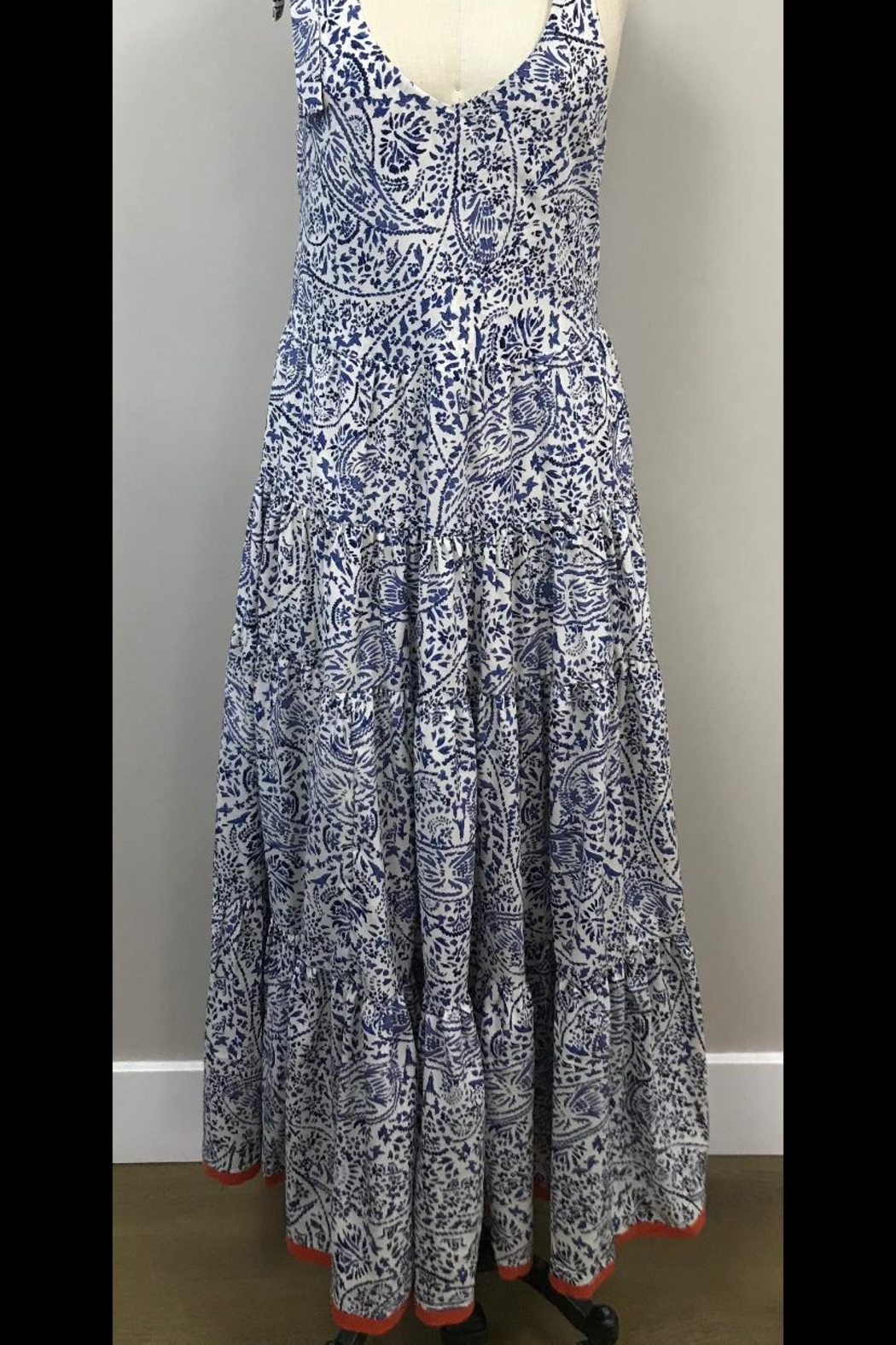 THML Clothing Printed Maxi Dress - Main Image