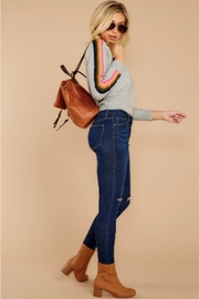 THML Clothing Rainbow Stripe Sweater - Product Mini Image
