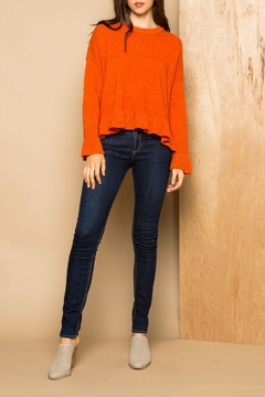 THML Clothing Ruffle Sweater - Product List Image