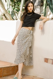 THML Clothing Sammie Wrap Skirt - Product Mini Image