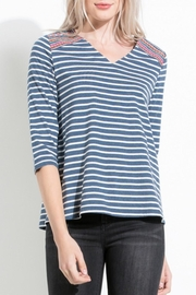 THML Clothing Casual Embroidered Top - Product Mini Image