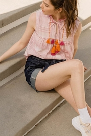 THML Clothing Sleeveless Pink Top - Product Mini Image