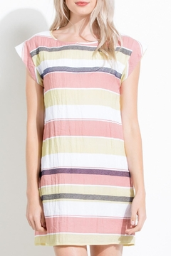 THML Clothing Striped Shift Dress - Alternate List Image