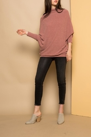 THML Clothing Slouchy Ribbed Sweater - Product Mini Image