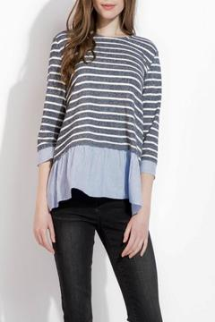 THML Clothing Spring Stripes Top - Product List Image
