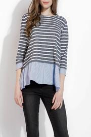 THML Clothing Spring Stripes Top - Product Mini Image