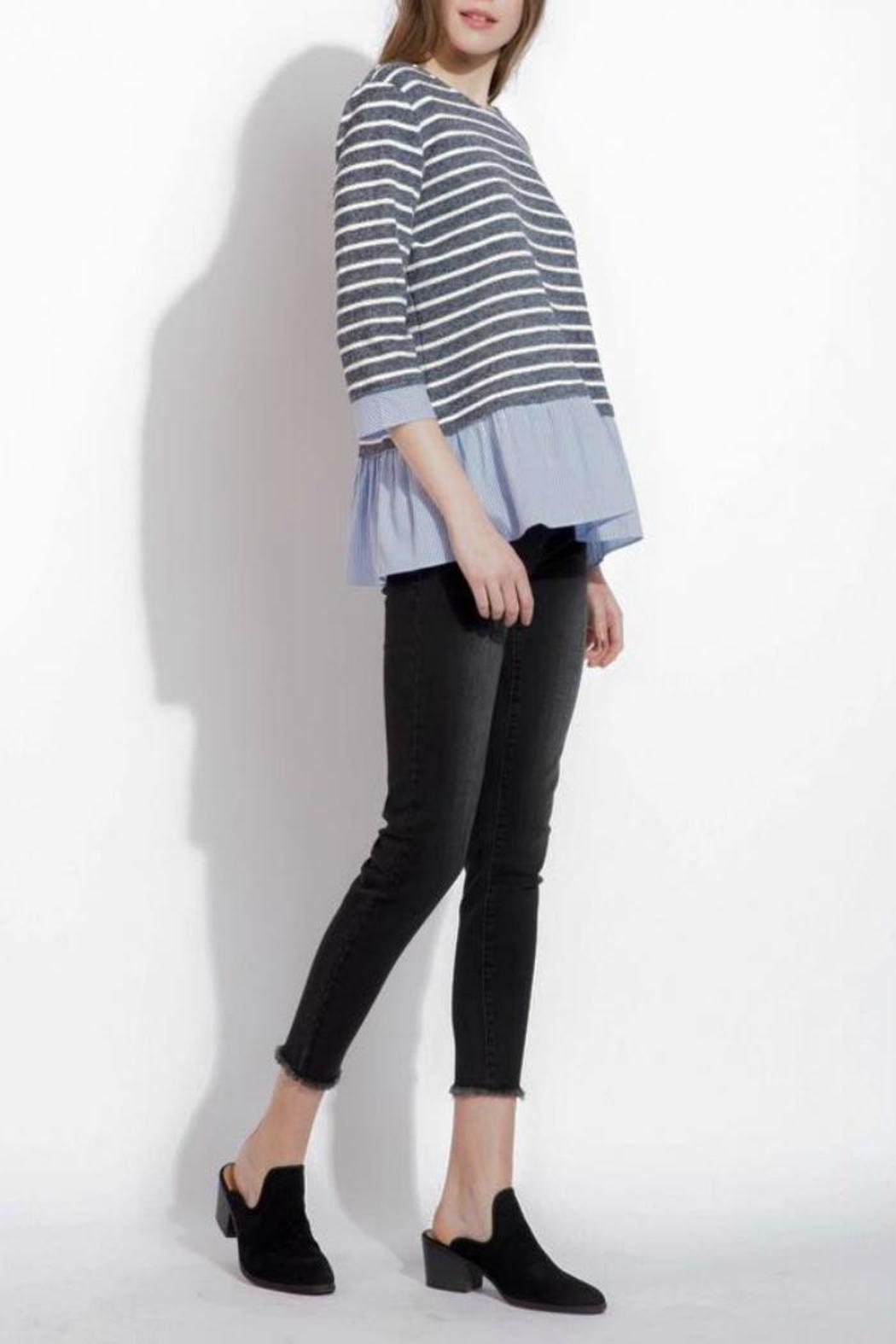 THML Clothing Spring Stripes Top - Front Full Image