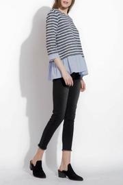 THML Clothing Spring Stripes Top - Front full body