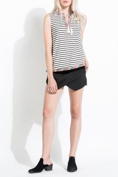 Shoptiques Product: Stripe Embroidered Tank