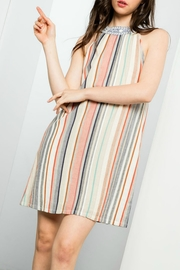 THML Clothing Striped Attitude Dress - Product Mini Image