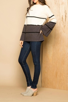 Shoptiques Product: Striped Crew Sweater