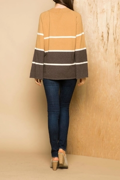 THML Clothing Striped Crew Sweater - Alternate List Image