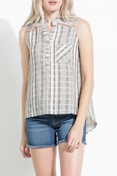 THML Clothing Striped High Low Tunic - Product List Image
