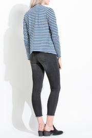 Shoptiques Product: Striped Knit Blazer - Side cropped