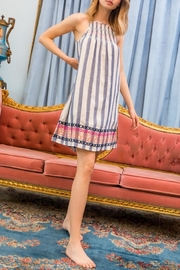 THML Clothing Striped Smocked Dress - Product Mini Image