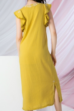 THML Clothing Sunny Embroidered Dress - Alternate List Image