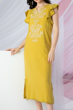 Shoptiques Product: Sunny Embroidered Dress