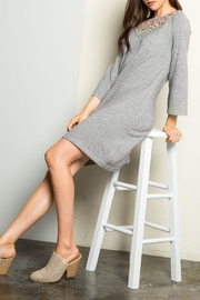 THML Clothing Sweater Dress - Back cropped