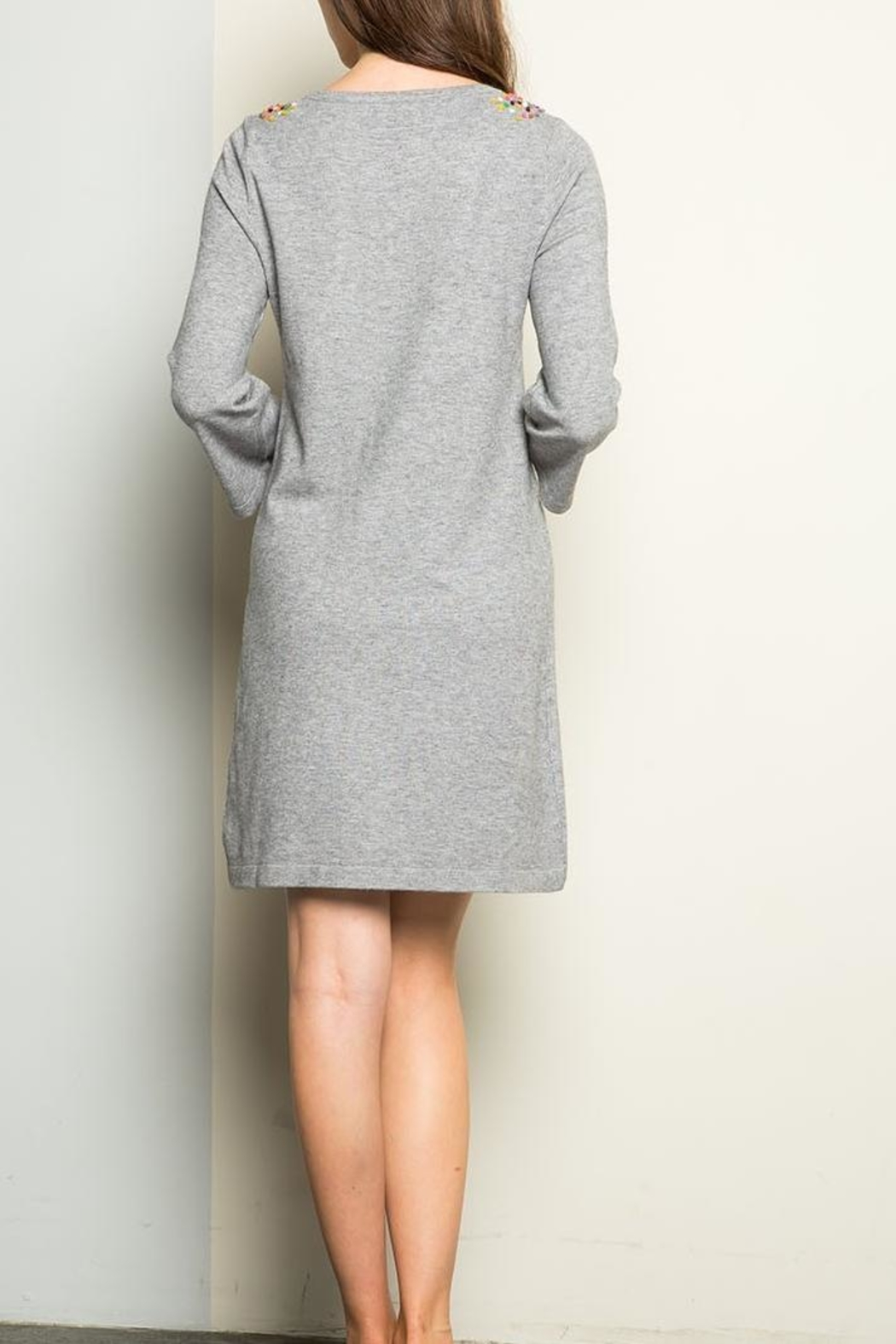 THML Clothing Sweater Dress - Front Full Image