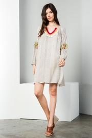THML Clothing Tassel Dress - Product Mini Image