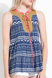 THML Clothing Tiered Printed Tank - Product Mini Image