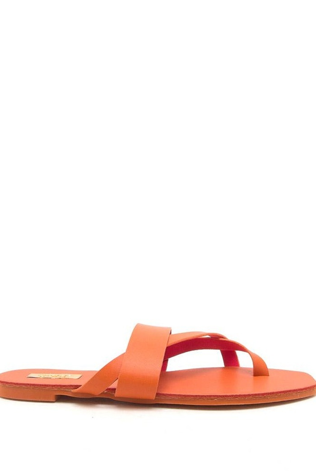 Qupid Thong Sandals - Front Full Image