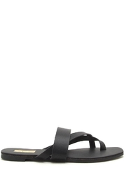 Qupid Thong Sandals - Front full body