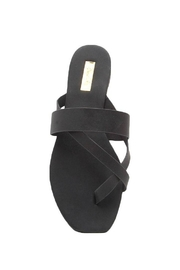 Qupid Thong Sandals - Back cropped