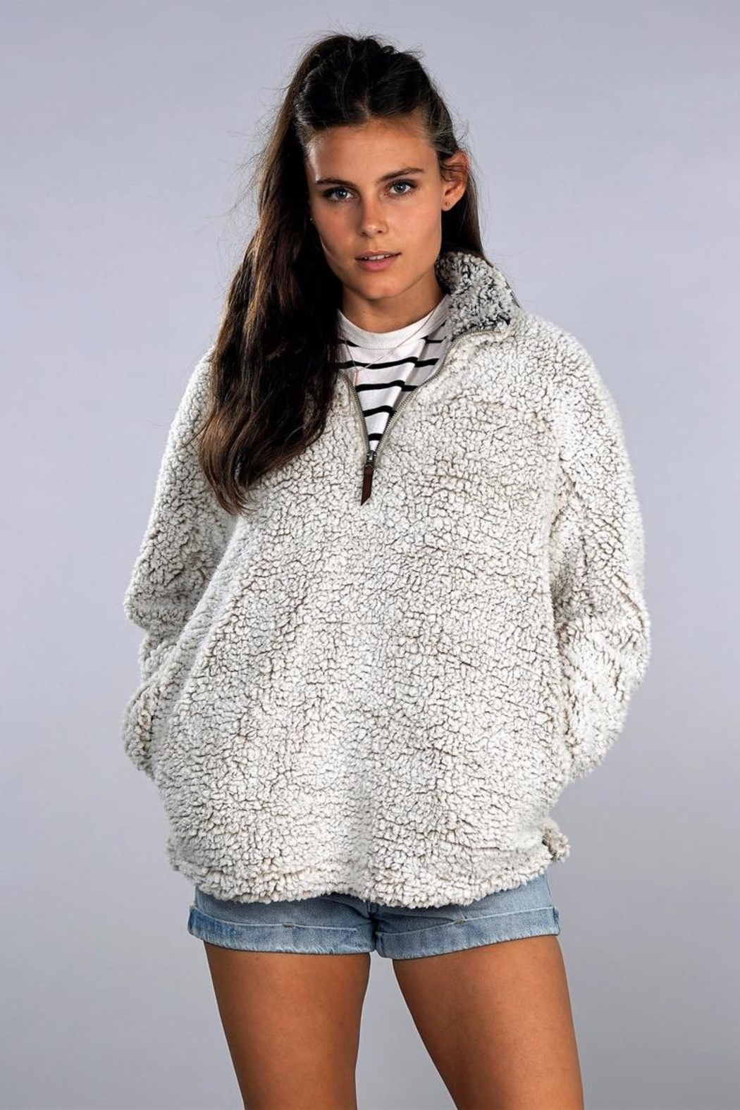 Thread & Supply Fuzzy Pullover - Main Image