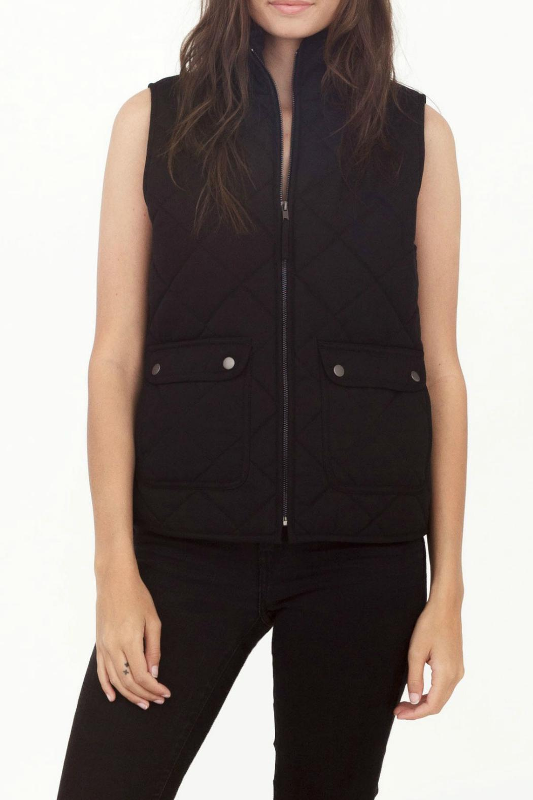 Thread & Supply Lancaster Quilted Vest - Front Cropped Image