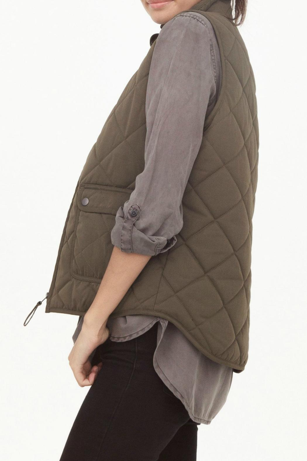 Thread & Supply Lancaster Quilted Vest - Front Full Image