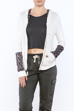 Threads 4 Thought Alia Alabaster Hoodie - Product List Image