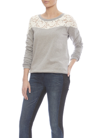 Threads 4 Thought Heather Grey Sweater - Product Mini Image