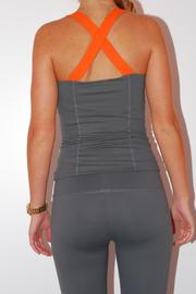 Threads 4 Thought Yoga Workout Top - Front full body