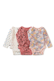 Tea Collection  Three Cheers Baby Bodysuit Set - Product Mini Image