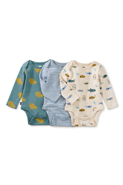 Tea Collection  Three Cheers Bodysuit - Lions - Product Mini Image