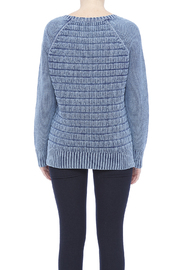 Three Dots Lindsey Cotton Sweater - Back cropped