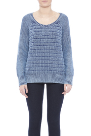 Three Dots Lindsey Cotton Sweater - Side cropped