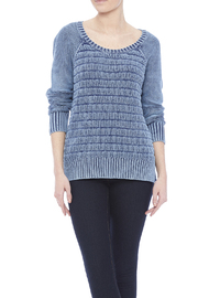 Three Dots Lindsey Cotton Sweater - Front cropped