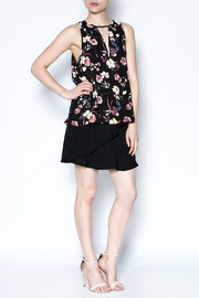 Three Eighty Two Floral Sleeveless Top - Side cropped