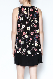 Three Eighty Two Floral Sleeveless Top - Back cropped