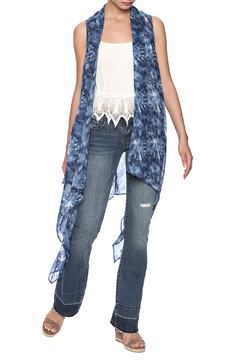 Three Eighty Two Tie Dye Vest - Product List Image