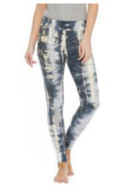 T Party Three-Tone Tie-Dyed Leggings - Product Mini Image